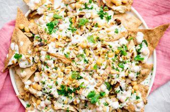 Libanese kip fatteh: een soort gezonde nacho's