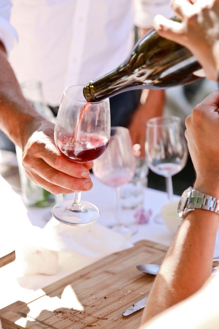 De wijn vloeide rijkelijk...
