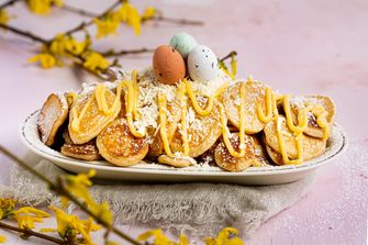 paaspoffertjes met lemon curd en witte chocolade