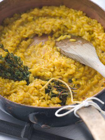 risotto met saffraan