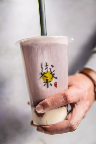 Milk boba tea / bubble tea