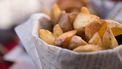 Crispy aardappels en ovenfriet