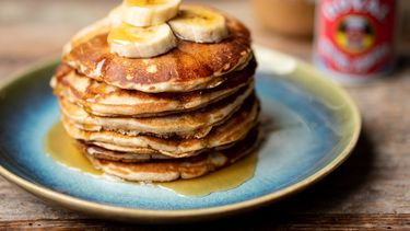 Peanut butter pancakes van Rosa Parks