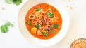 Thaise rode curry met inktvis