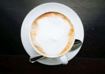 Koffie schuim