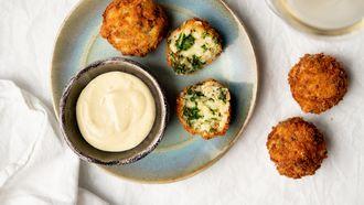 bitterballen met mayo als kookproject