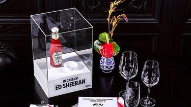 Heinz Ed Sheeran diner Bluespoon