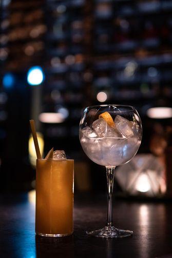 Cocktails bij Taiko