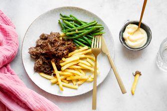 Stoofvlees met frites