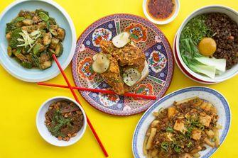 vegan Chinees restaurant