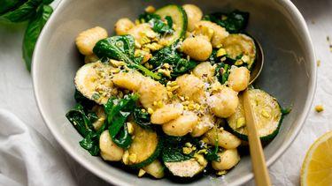 Afbeelding van gnocchi met courgette recept