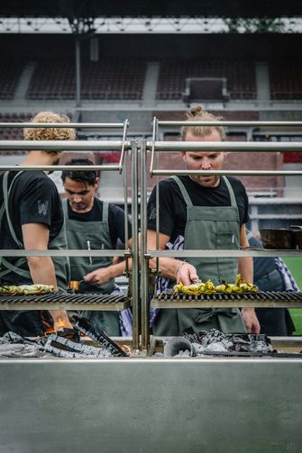 Restaurant Wils in Amsterdam: koken op open vuur
