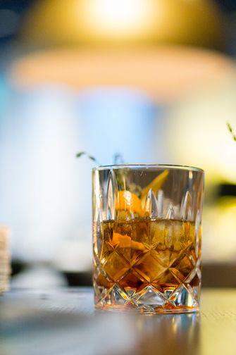 Willems Wermoed vermouth in een cocktail