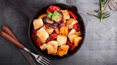 zomerse gerechten met kip