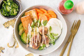 Vietnamese bowl / banh mi bowl
