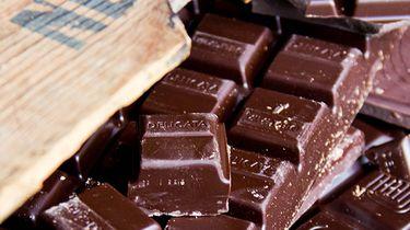 chocolade in een doos