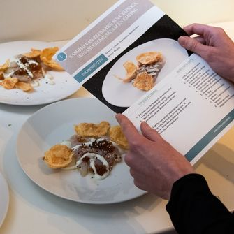 Ron Blaauw X Cook Like a chef dinerbox