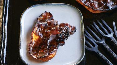 bacon van de barbecue