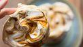 meringues met salted caramel