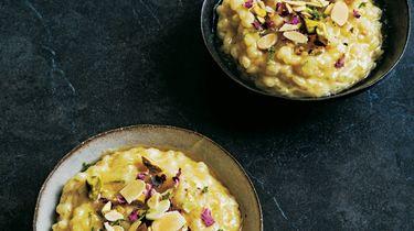 Arabische rijstpudding