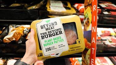 Beyond Burger in de supermarkt
