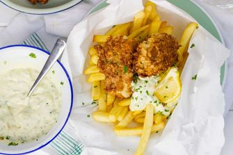 fish & chips toppings frietjes