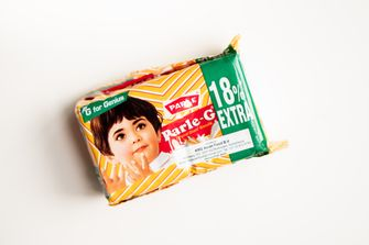 Parle G biscuits uit India
