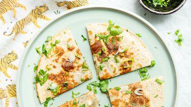 Quesadilla's met spinazie