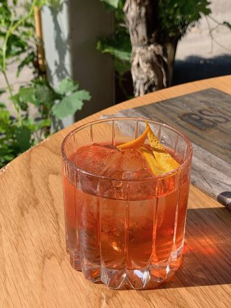 Trump cocktail bij Black Smoke