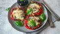 Gevulde paprika met mozzarella