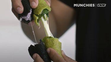 Gekleurde empanadas