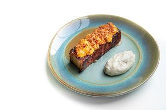 Bread and butter pudding van Wils
