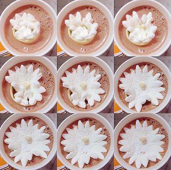 Dominique Ansel marshmallow bloemen