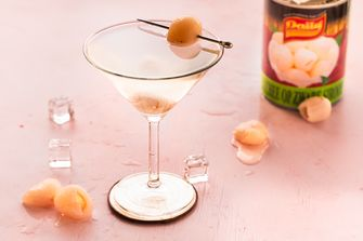 Lychee Martini cocktail