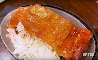 geroosterd varkensvlees