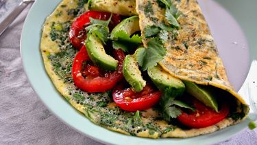 Zomerse omelet