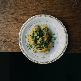 bbq aardappelen met algenboter