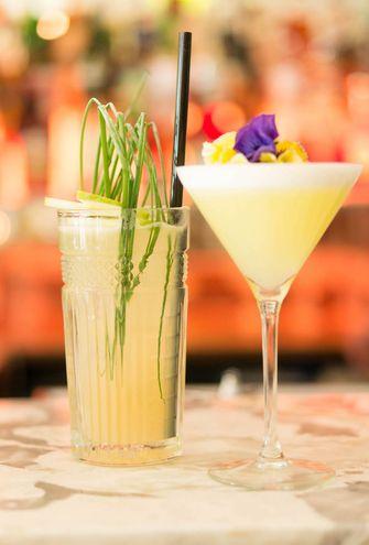 cocktails bij Teng Janssen