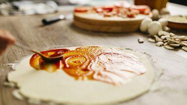 Tomatensaus voor op je pizza