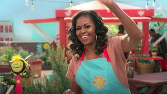 Michelle Obama in Wafeltje en Mochi