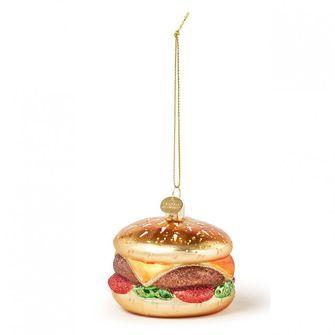 Hamburger kerstbal
