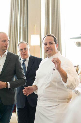 Chef Franz Conde en Roberto Payer