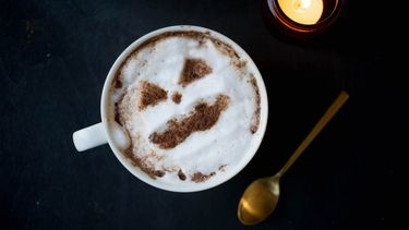 Warme chocolademelk Halloween recept