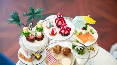 Summer Afternoon Tea Waldorf Astoria strandthema