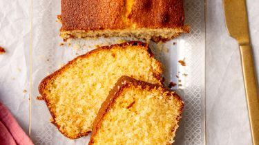 Makkelijke salted caramel cake